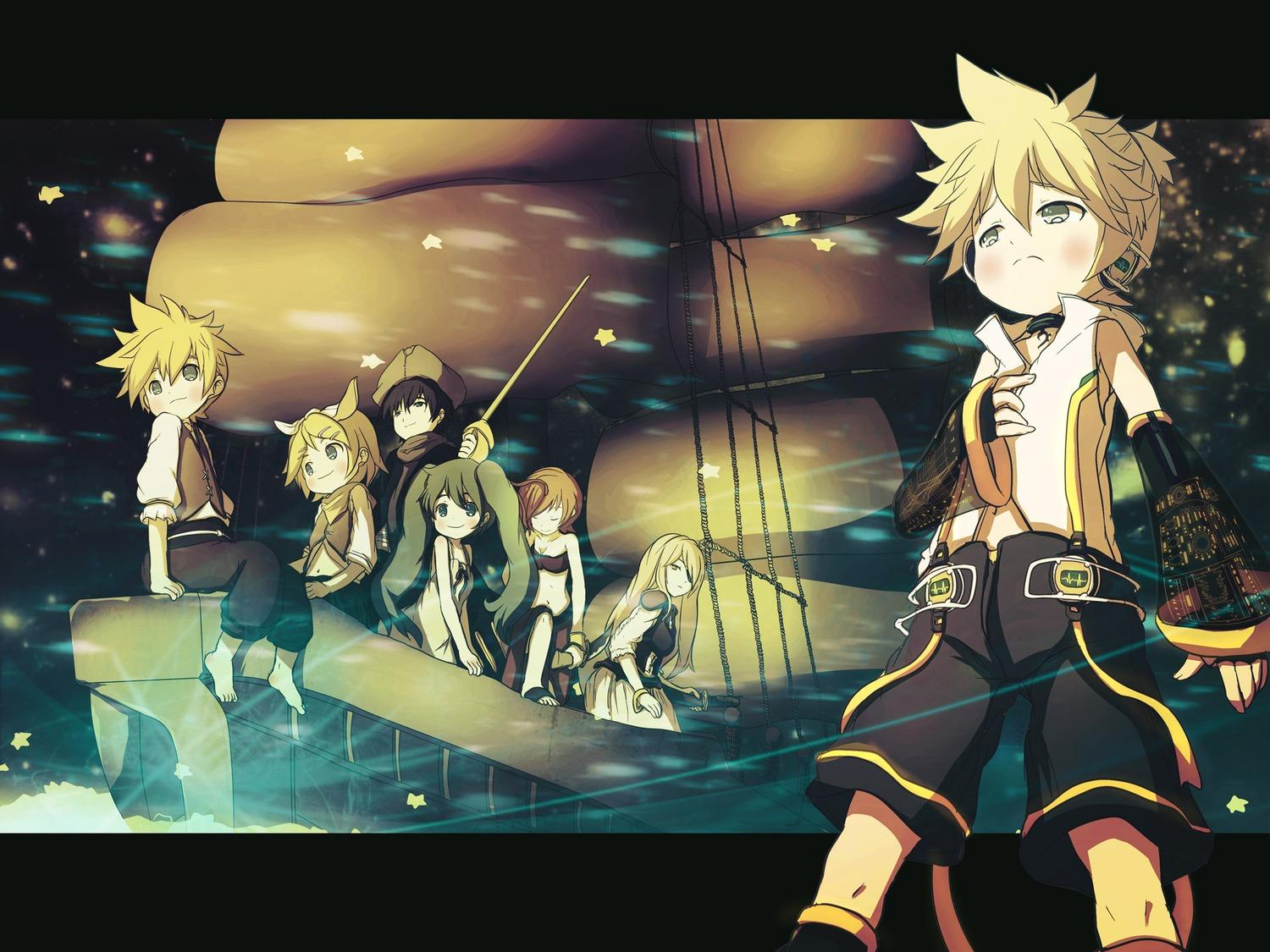 LenXrin and others - Rin and Len Kagamine Wallpaper (26421276 ...