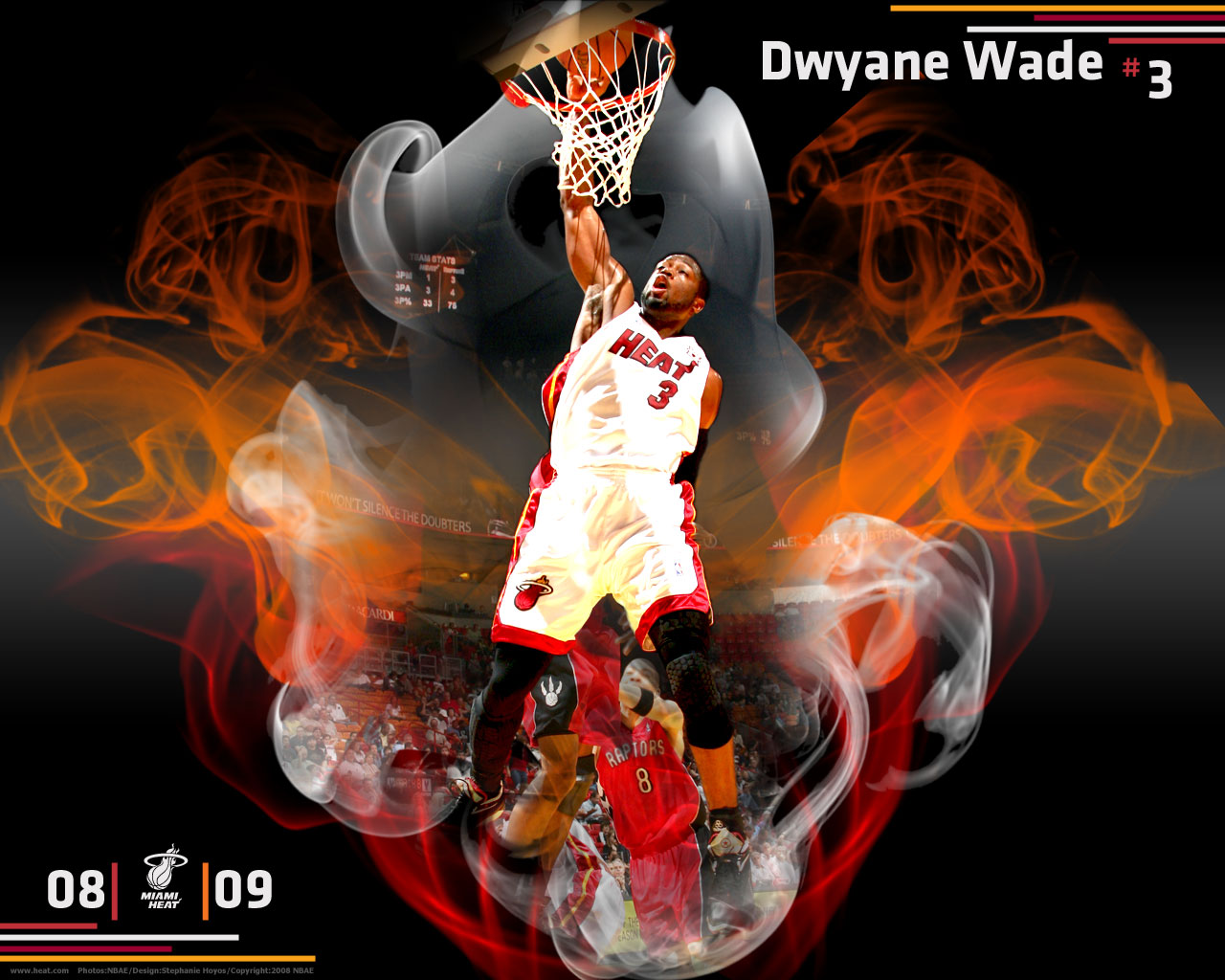 Dwyane Wade Wallpapers Miami Heat Sportwallpapers 1280x1024