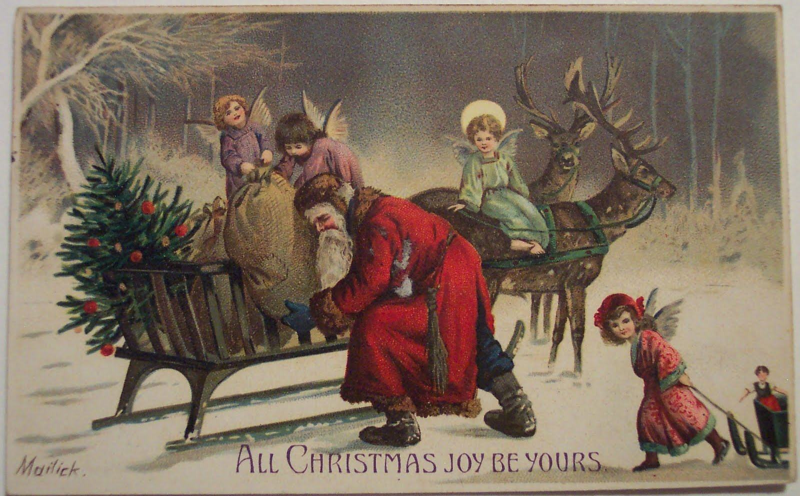 christmas wallpapers Vintage Christmas Backgrounds Wallpapers9 1600x993
