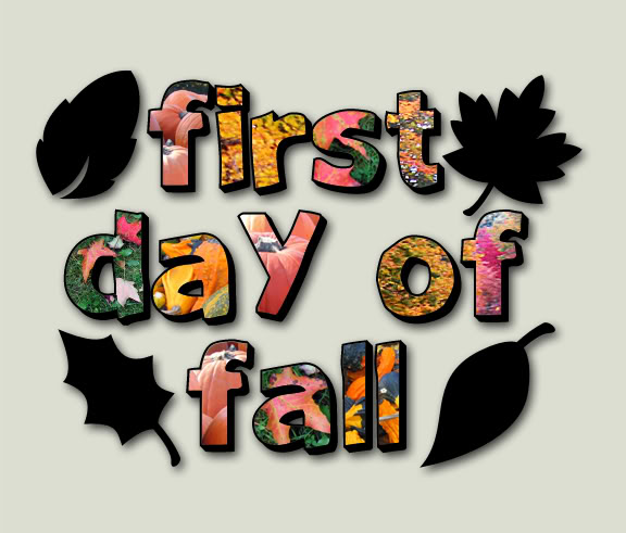 september 23rd is the first day of fall autumn though in this 576x491
