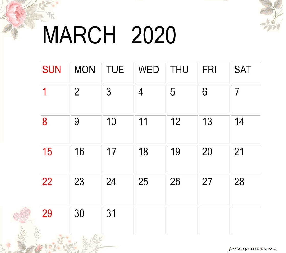 Cute March 2020 Calendar Desk Wallpaper Latest Calendar 1119x992