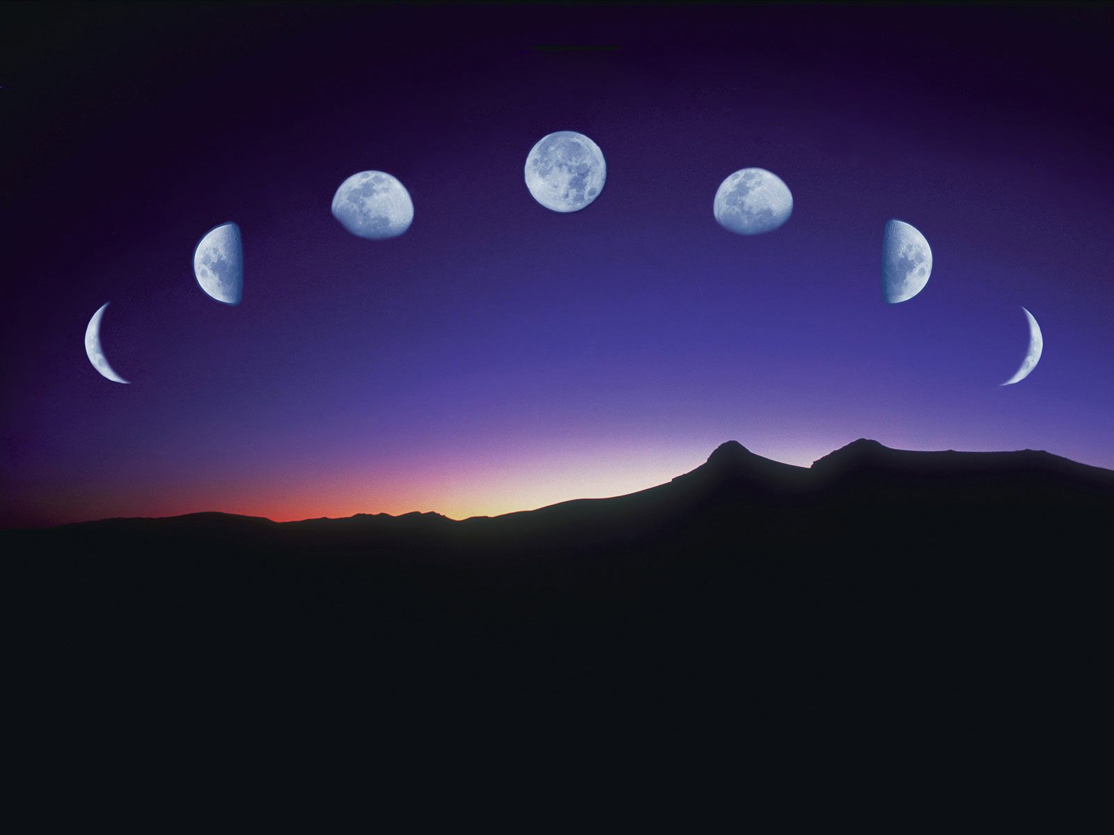Cool Moon Backgrounds 1600x1200