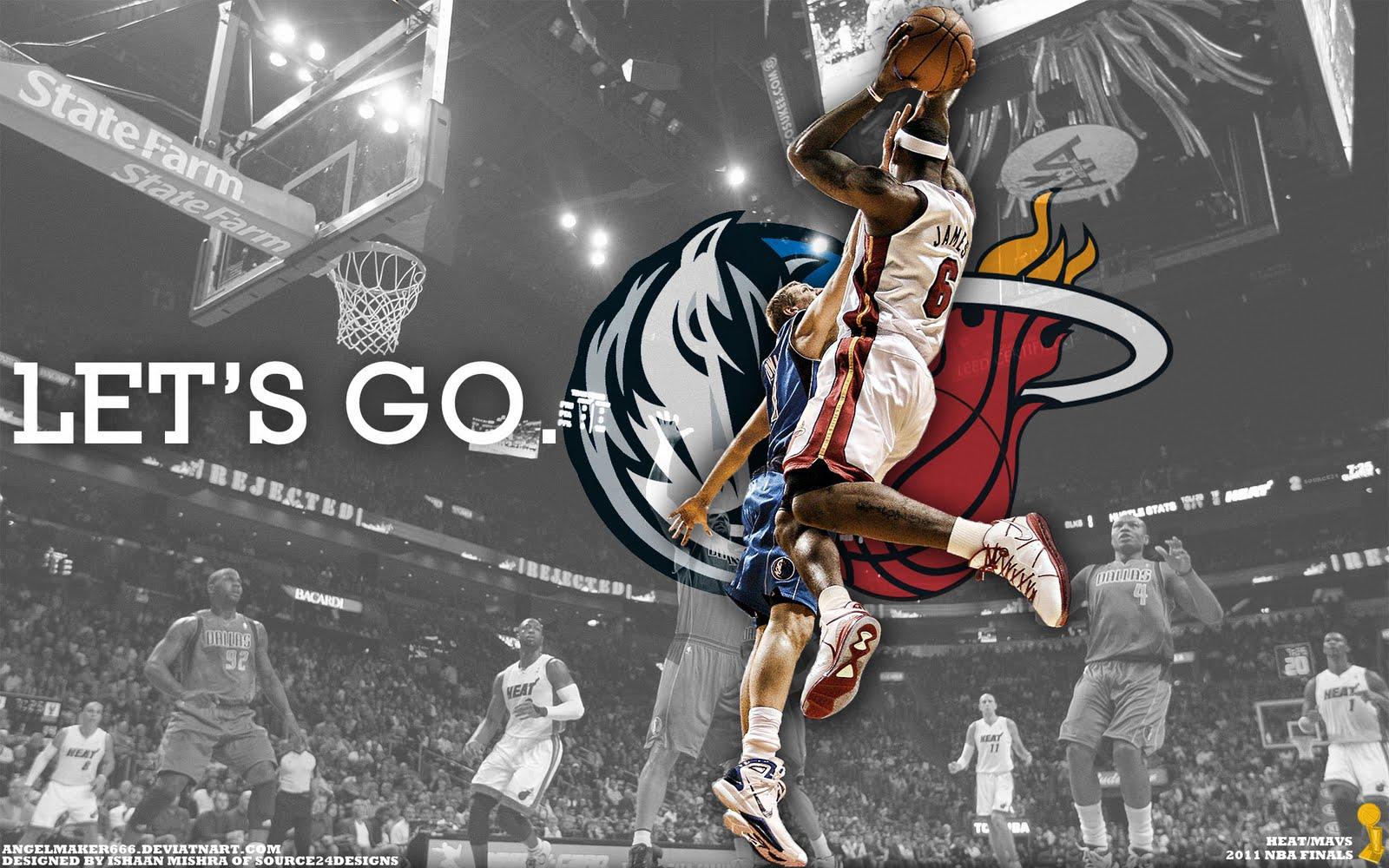 LeBron vs Dirk 2011 NBA Finals Widescreen Wallpaper Big Fan of NBA 1600x1000