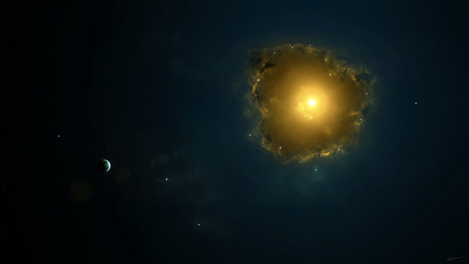 HD Space Wallpapers 1920 x 1080 Resolution 1920x1080