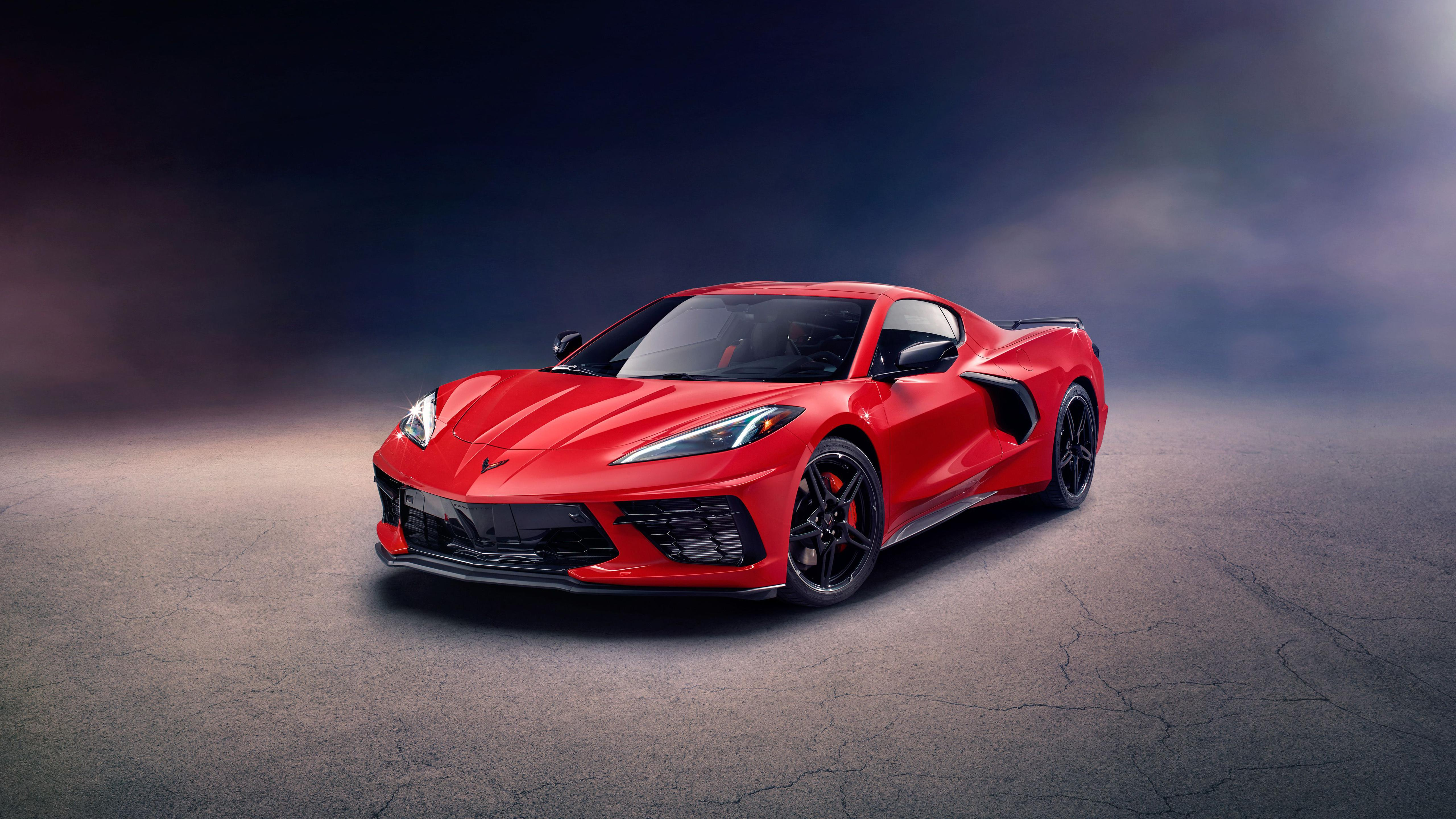 2020 Chevrolet Corvette Stingray Z51 Supercar Wallpapers 5120x2880