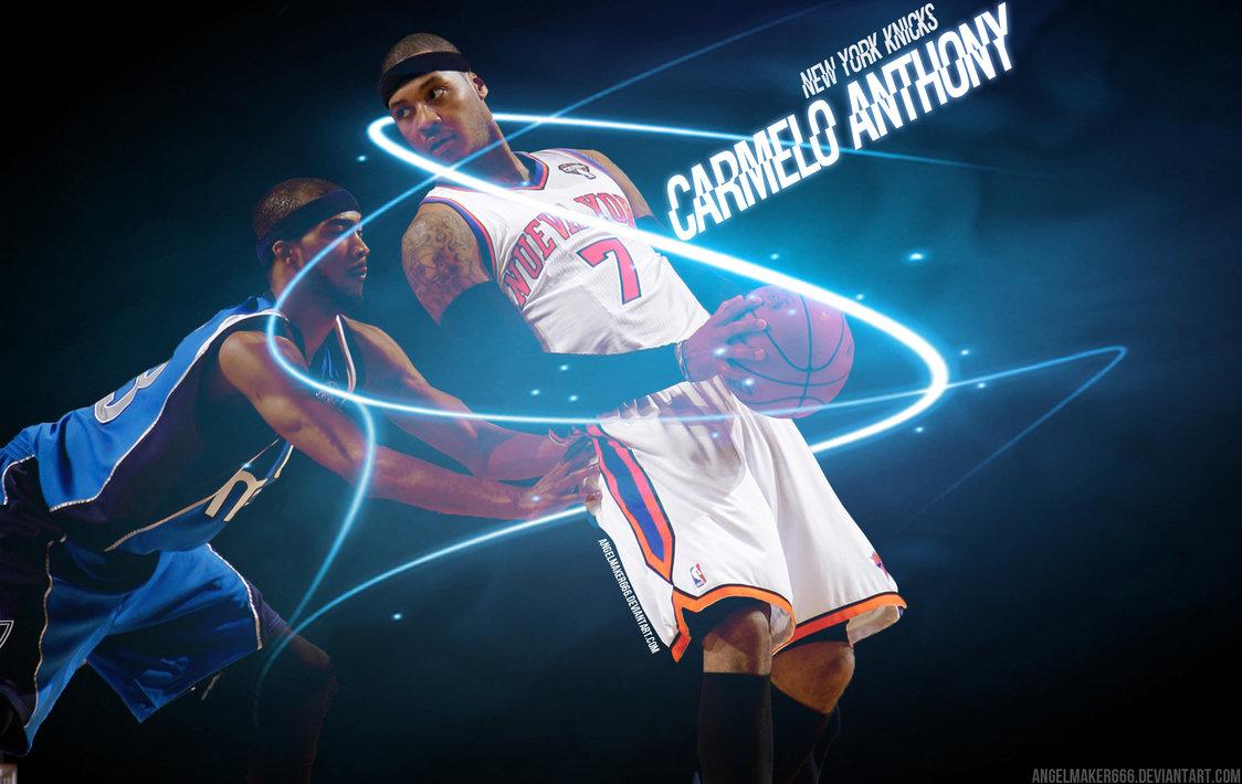 Knicks Carmelo Wallpaper 1124x710