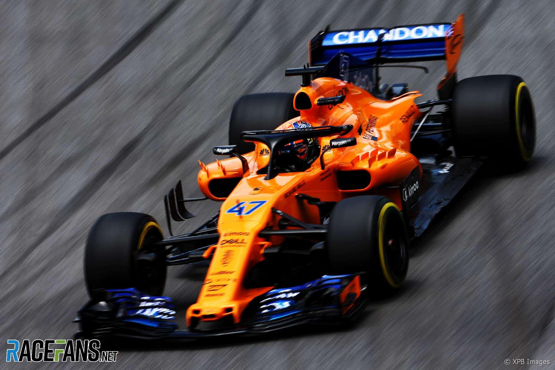 Lando Norris McLaren Interlagos 2018 RaceFans 1920x1280