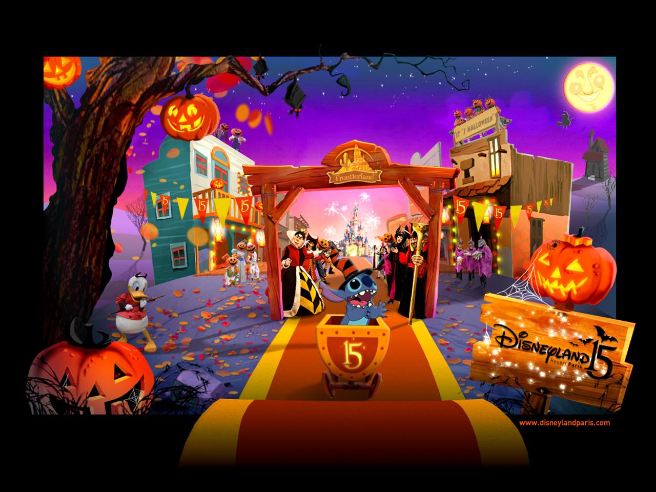 Disney halloween wallpaper backgrounds wallpapersafari - Disney halloween images ...