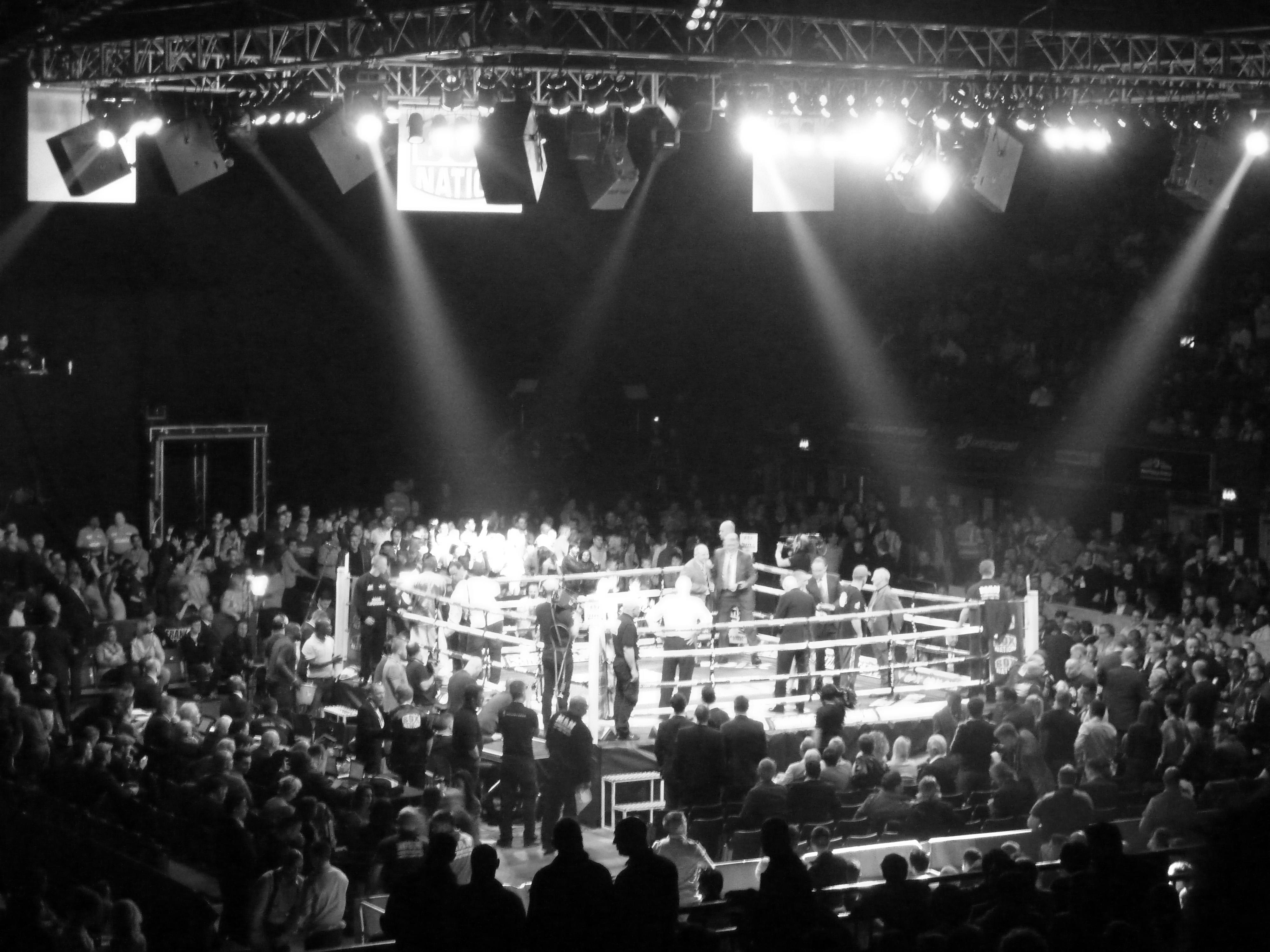 Empty Boxing Ring 4000x3000