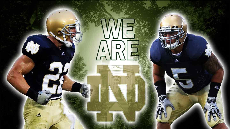 Notre Dame Football   Wallpapers Pics Photos Images Desktop 1440x810