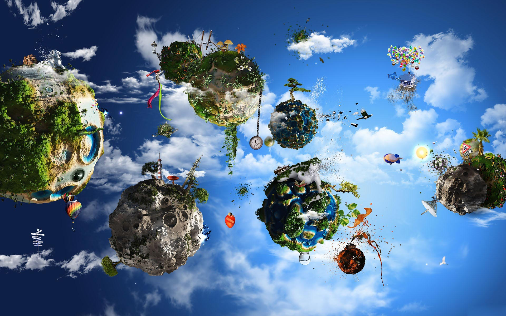 Planets hd Desktop Wallpaper and make this wallpaper for your desktop 1920x1200