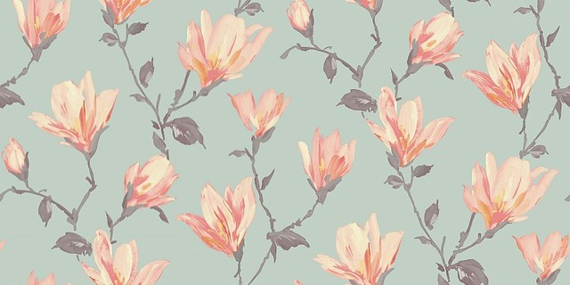 Teal And Coral Wallpapers Wallpapersafari