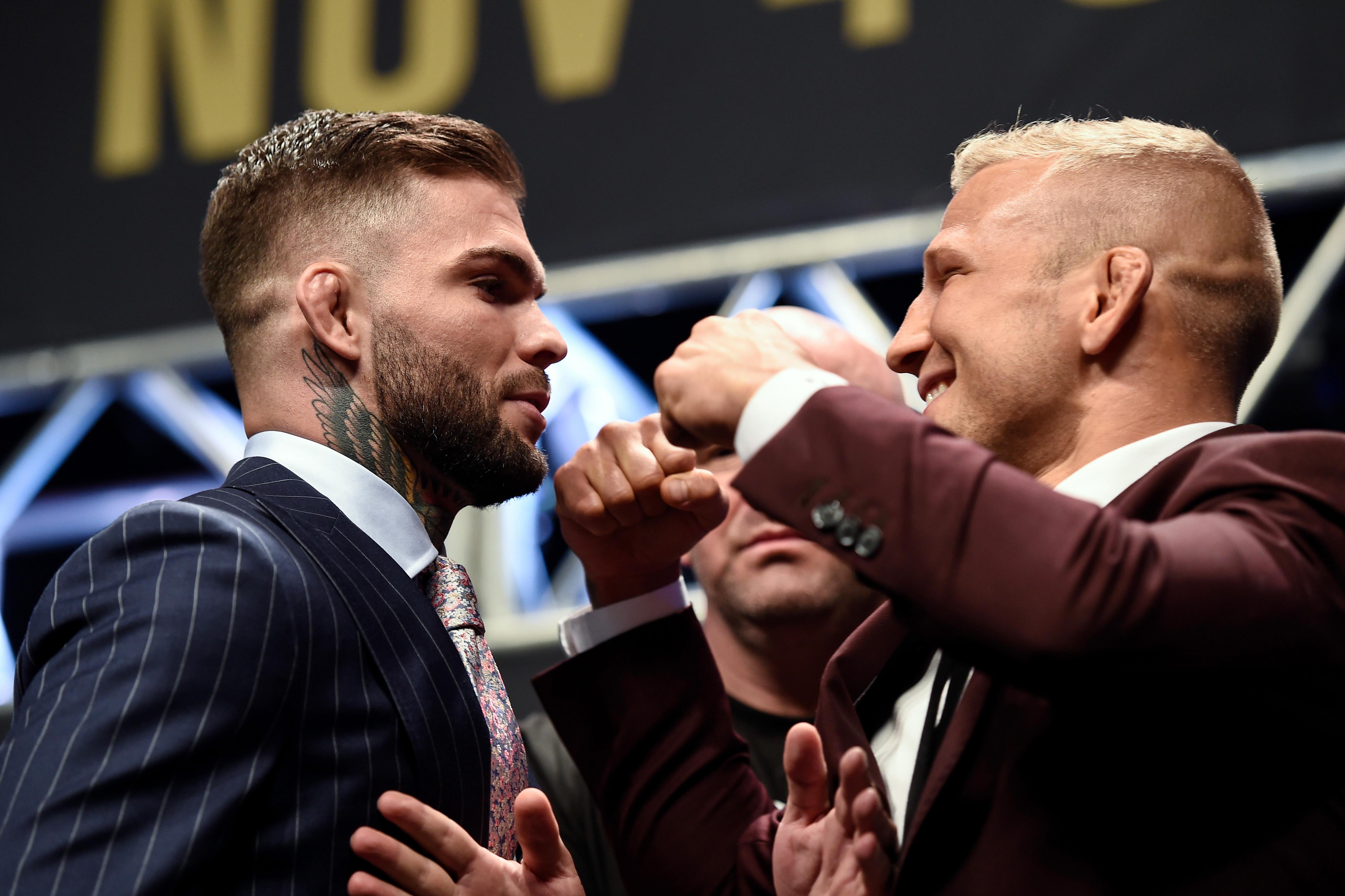 Cody Garbrandt TJ Dillashaw Settle Beef at UFC 217 Rolling Stone 4765x3175