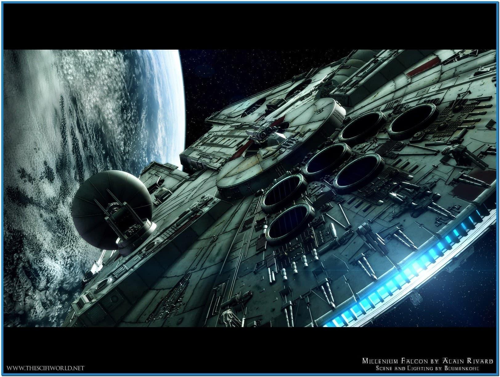 Free Star Wars Screensavers And Wallpaper Wallpapersafari