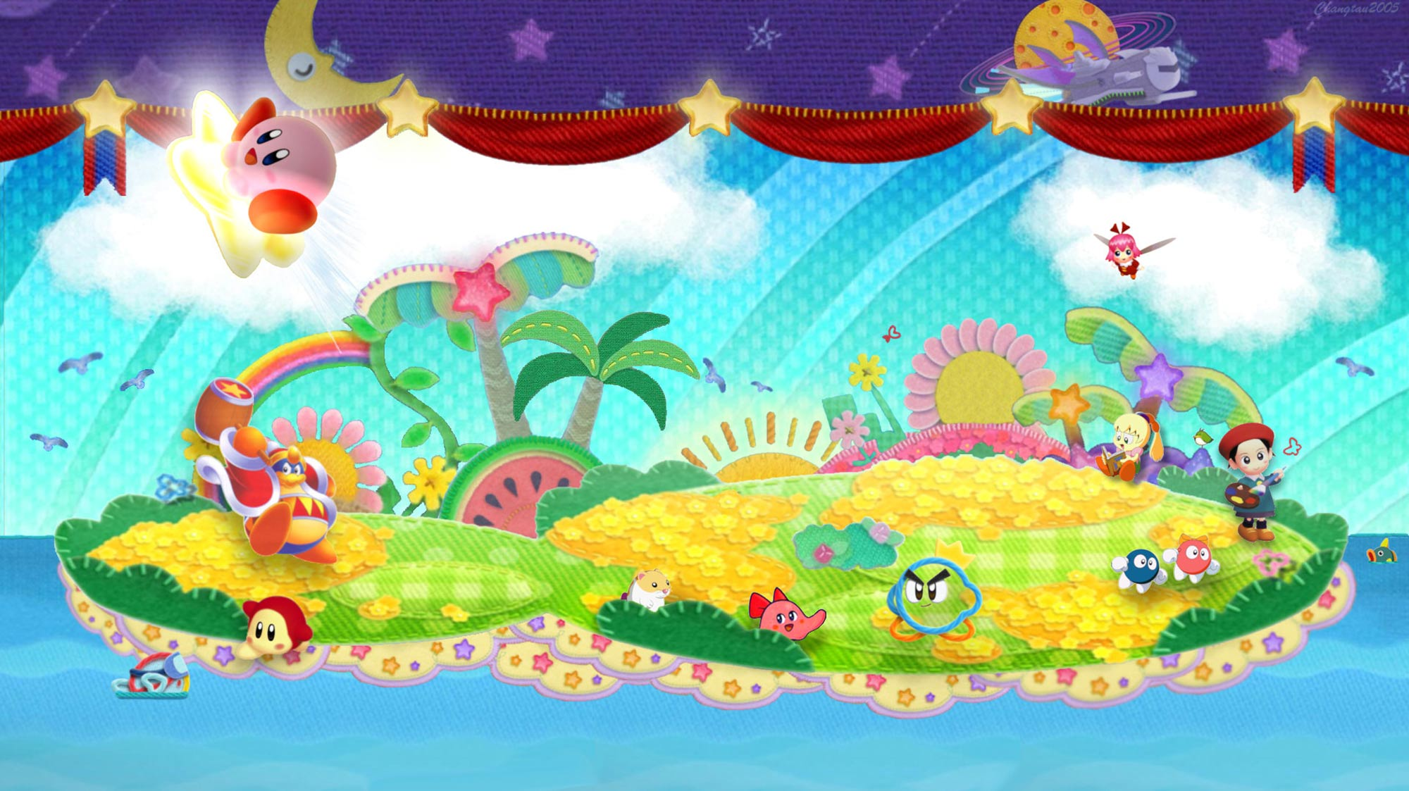 Image   Wiki background Kirby Wiki FANDOM powered by Wikia 2000x1123