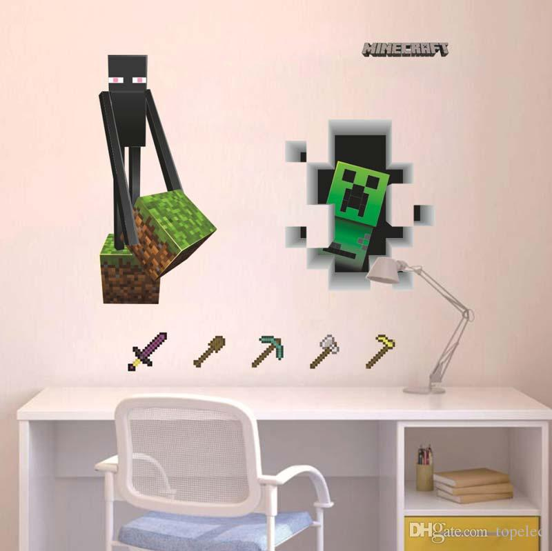 Minecraft Kids Bedroom Wallpaper Kids Bedroom 800x799