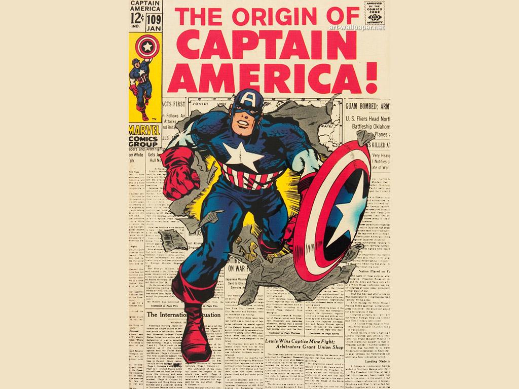 Captain America Wallpapers Captain America Comics Wallpapers Vintage 1024x768