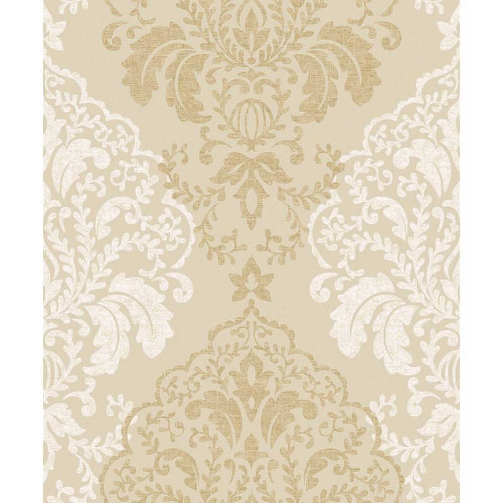 Free Download Damask Pattern Glitter Motif Textured Embossed