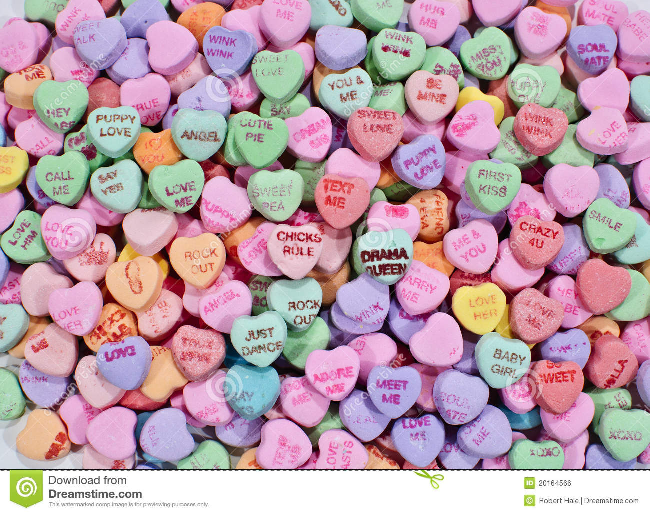 Candy Hearts Wallpaper - WallpaperSafari