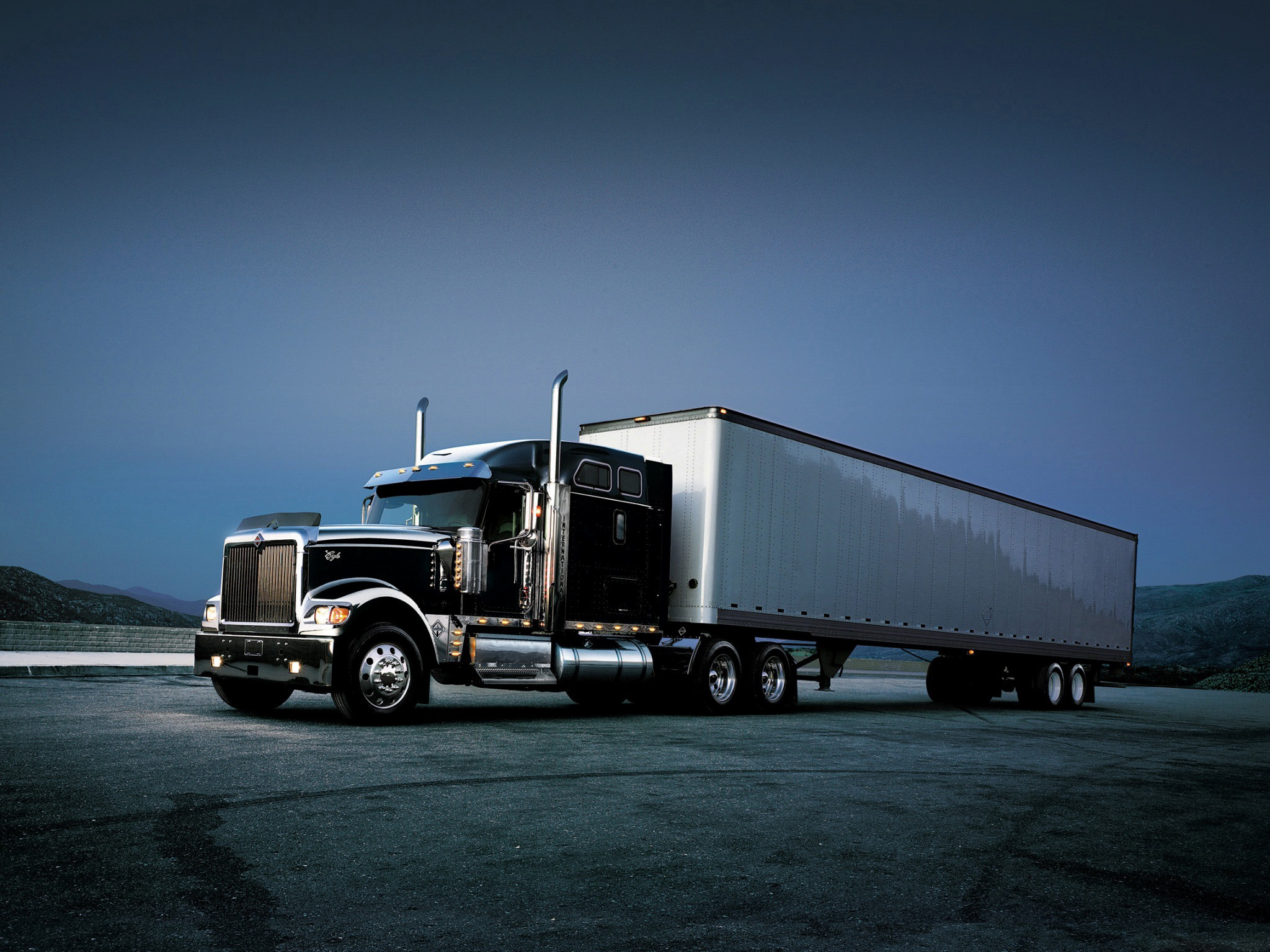 semi trucks wallpapers for desktop wallpapersafari