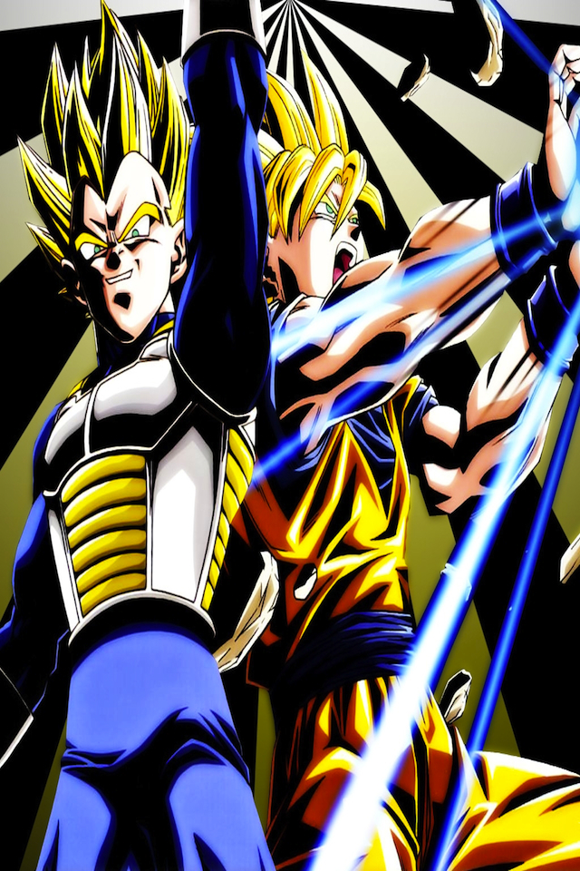 Wallpapers for DBZ Kakarott Goku vs Vegeta aplicaciones iPhone de 640x960