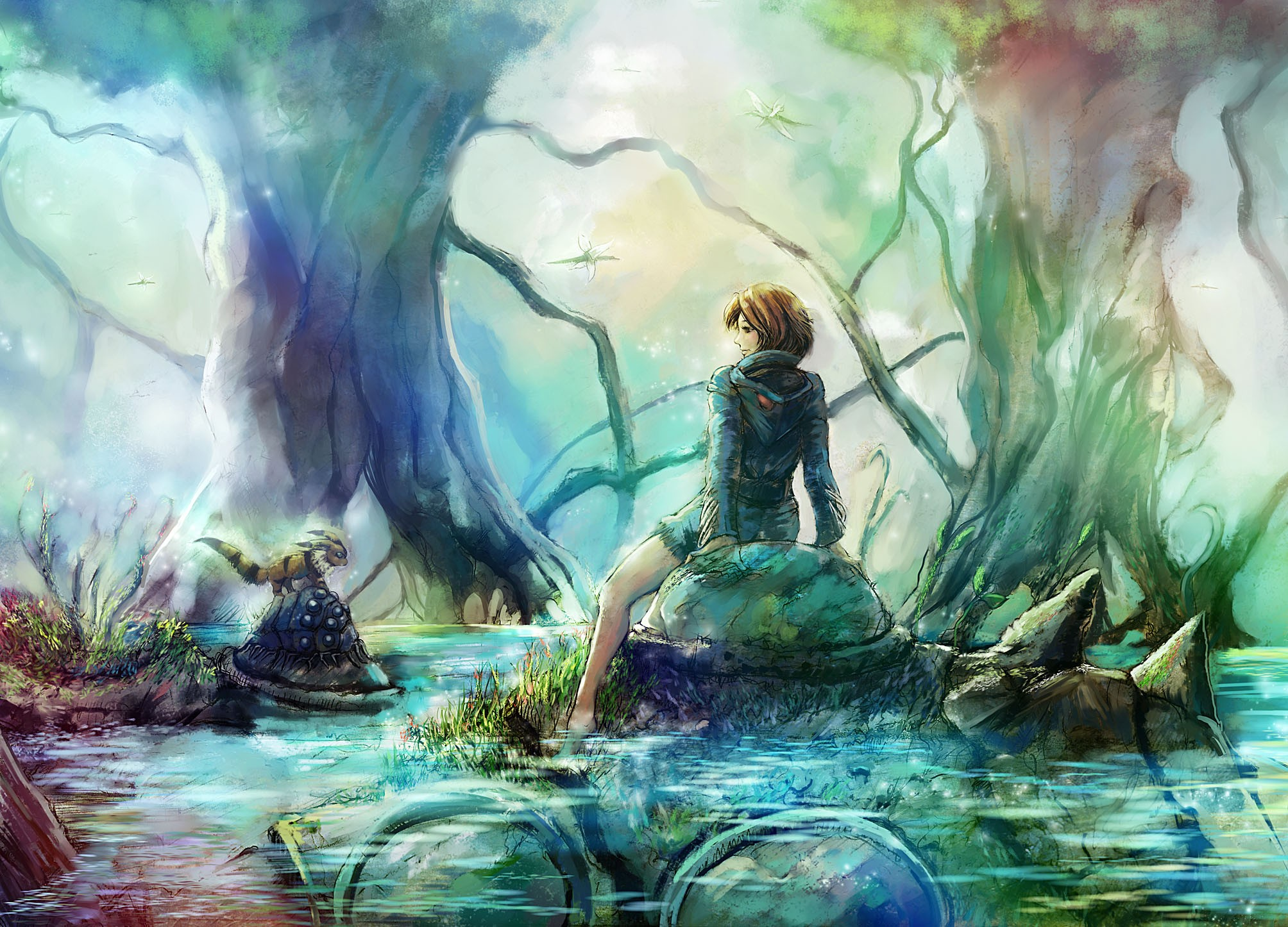 Image Result For Manga Cat Wallpapera