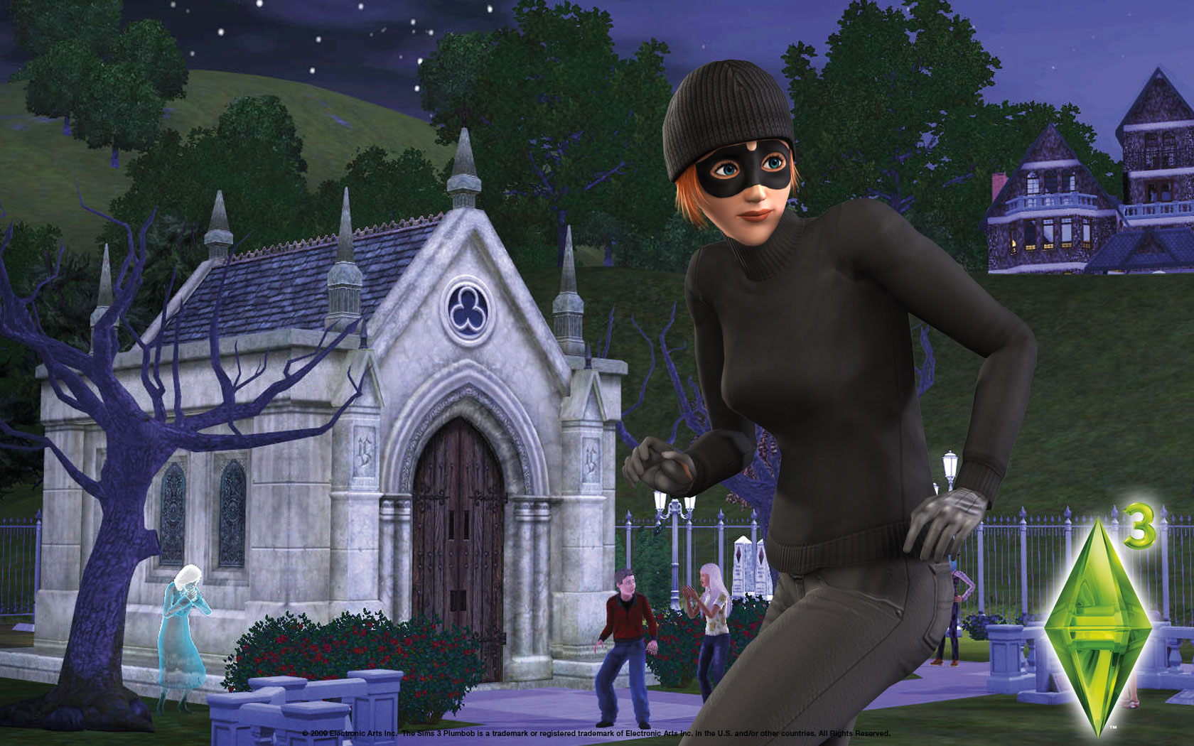 The sims 3 wallpaper   The Sims 3 Late Night Wallpaper 24436671 1680x1050