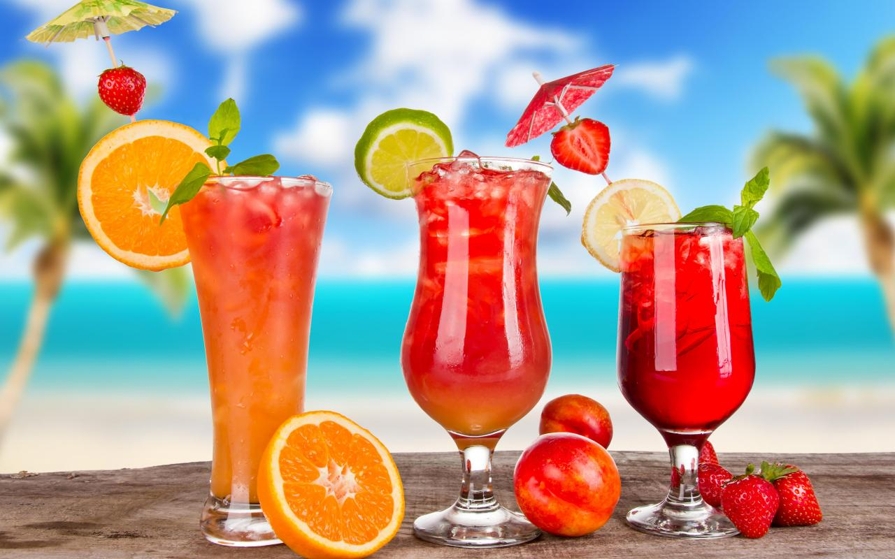 TROPICAL COCKTAILS WALLPAPER   147086   HD Wallpapers 1280x800