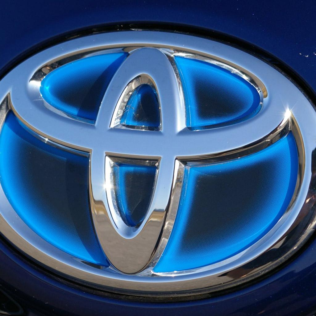 Download Download Toyota Logo Wallpaper 1024x1024