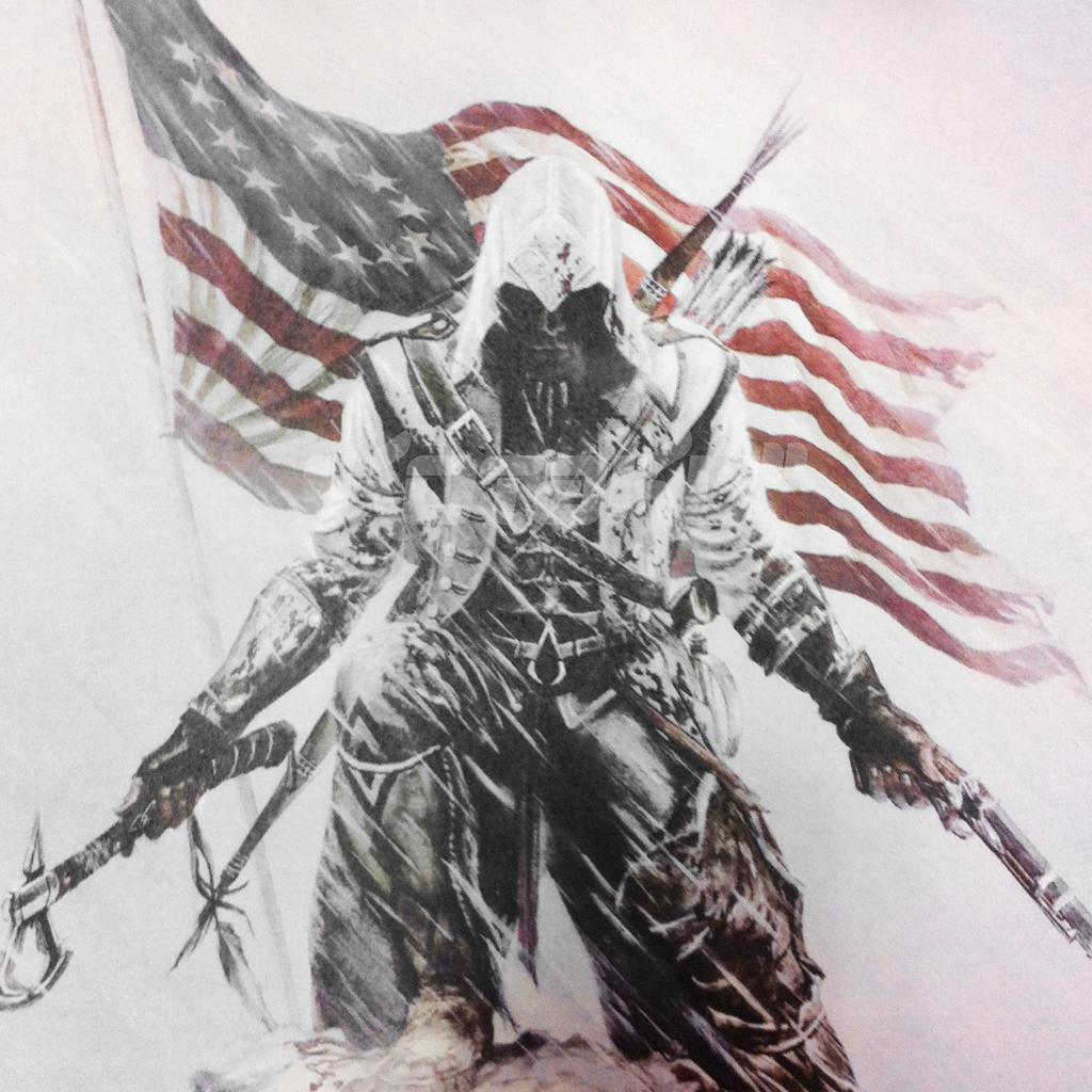 Assassins Creed III iPad Wallpaper iPad Retina HD Wallpapers 1024x1024