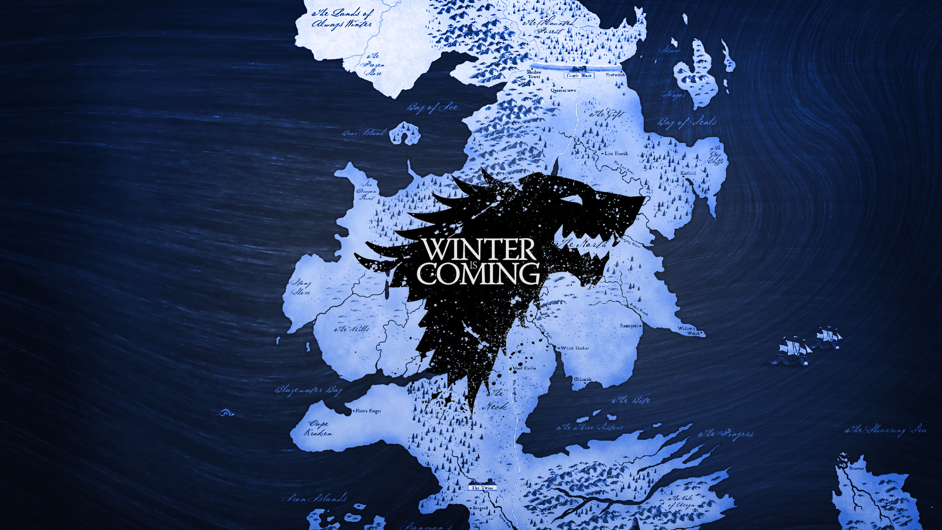 winter is coming game of thrones 1920x1080