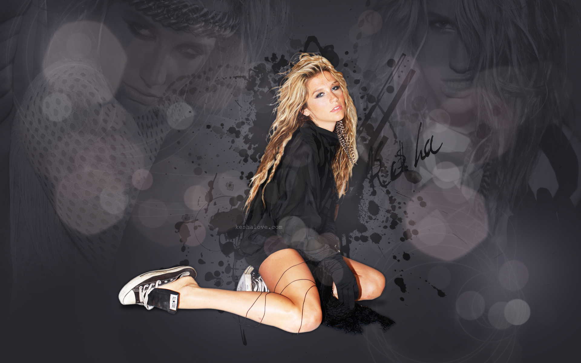 Papel de Parede Kesha Cantora Wallpaper para Download no Celular ou 1920x1200
