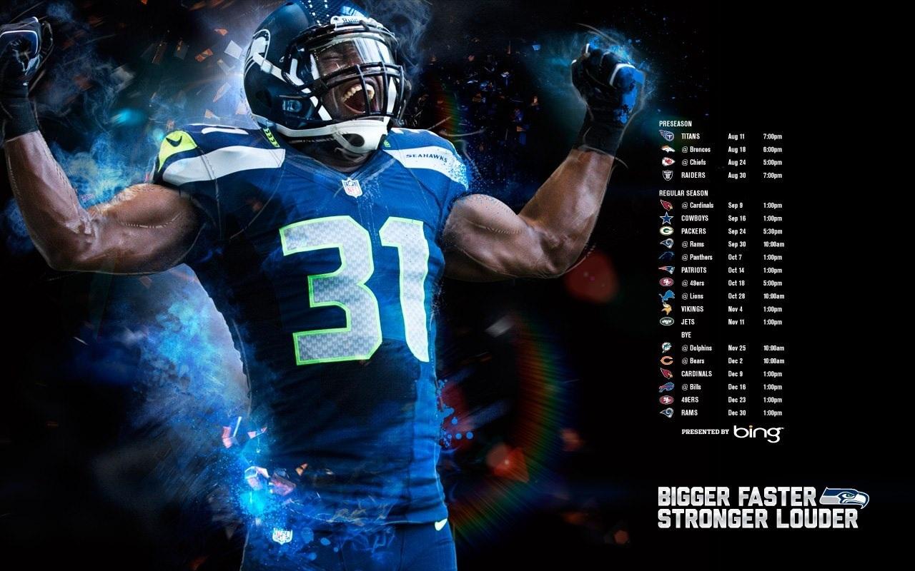 Seattle Seahawks Wallpaper Marshawn Lynch Photo Shared By 1280x800
