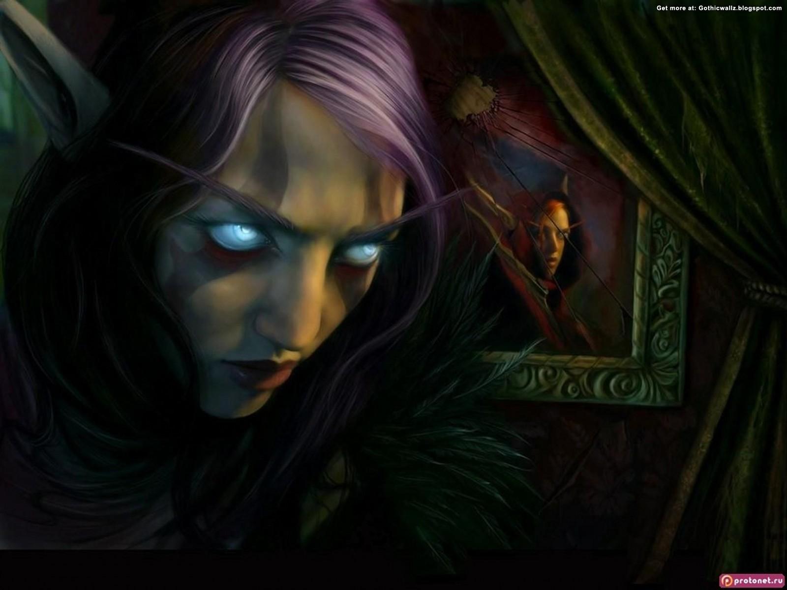 Evil look   Dark Gothic Wallpapers   FREE Gothic Wallpaper   Dark Art 1600x1200