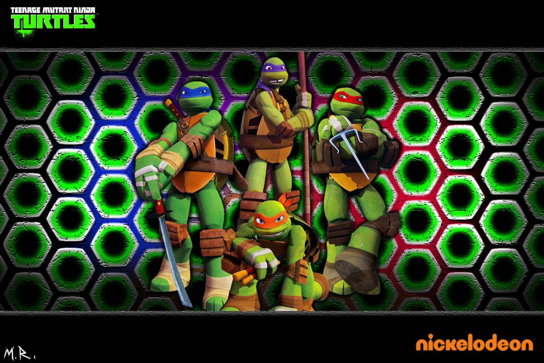 2012 Nickelodeon TMNT Wallpaper by ShadowNinja976 on 1800x1200