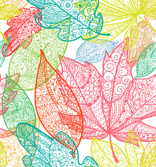Leaves Wallpaper   Tropical   Wallpaper   by Limitless Walls 544x582