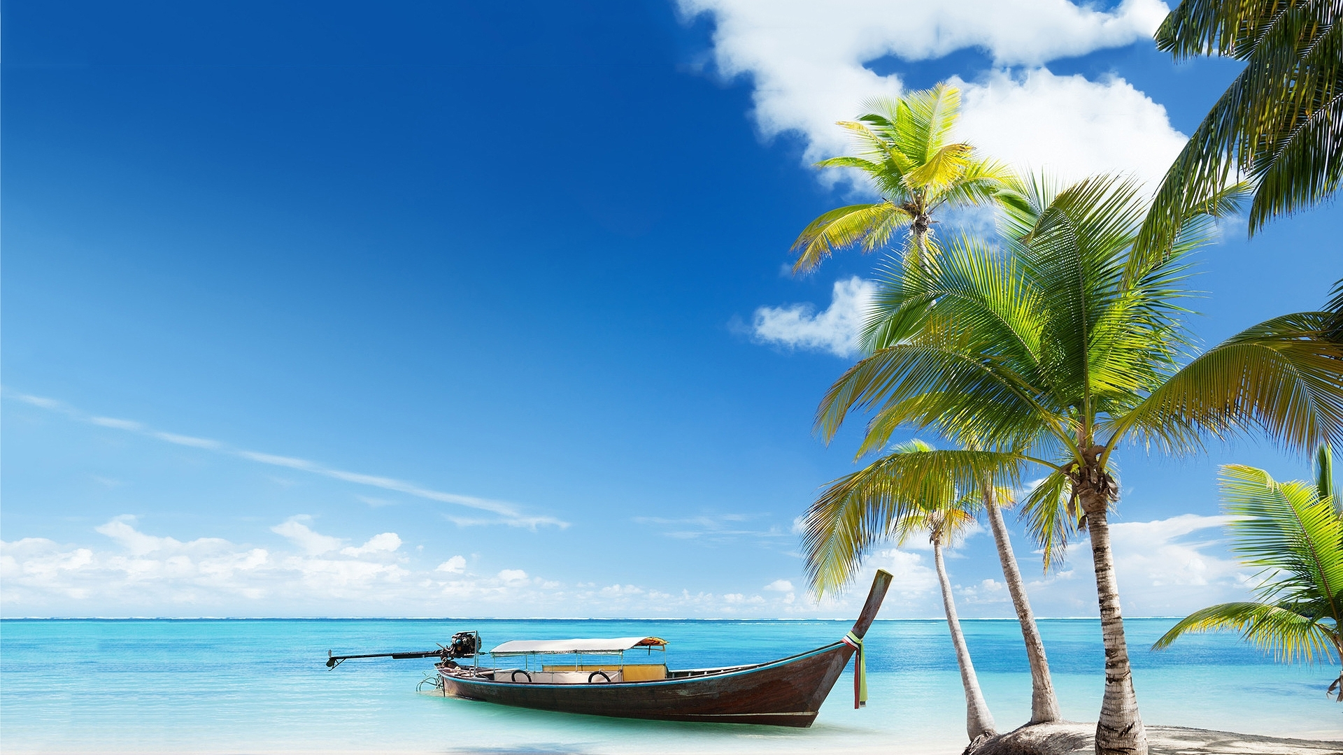 paradise island wallpaper in Nature wallpapers with all resolutions 1920x1080