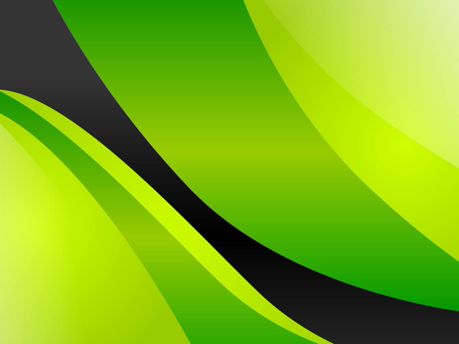 Black and White Wallpapers Green Yellow Abstract Wallpaper 1600x1200