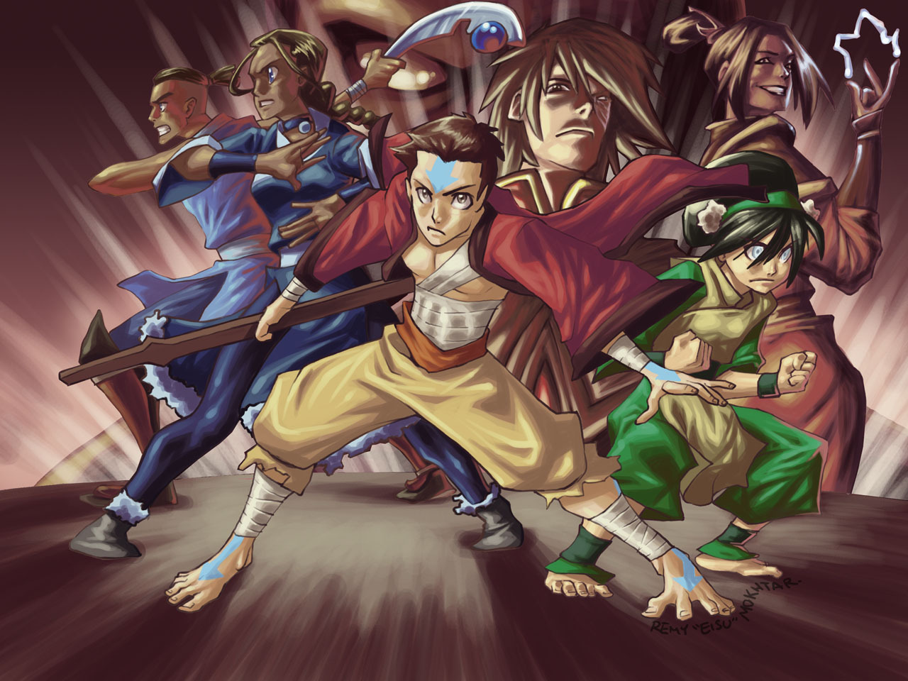 Anime   Avatar The Last Airbender Wallpaper 1280x960