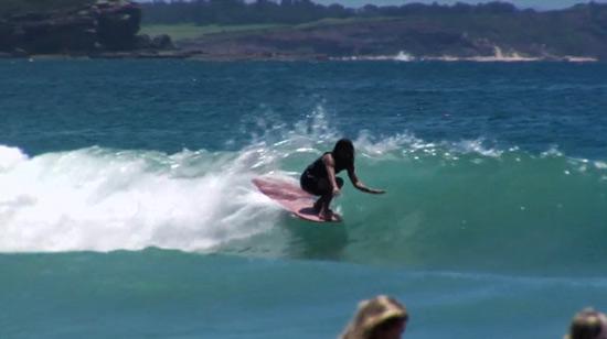 Longboard Surfing Wallpaper Longboard go surf 550x308