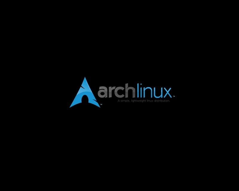 linux arch linux black background 1280x1024 wallpaper Technology Linux 800x640