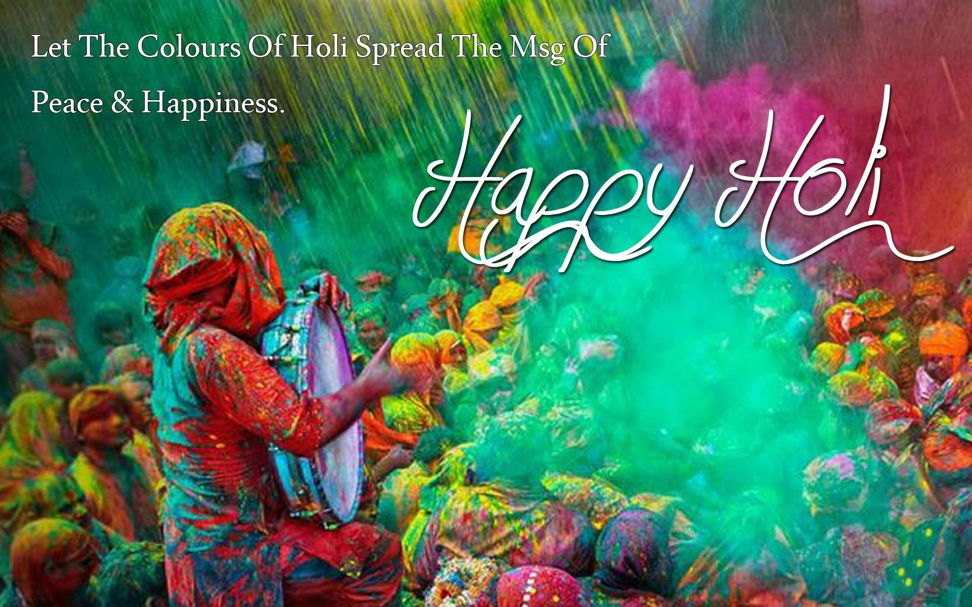 Happy Holi 2019 Images Quotes Wishes Greetings Messages 1920x1200