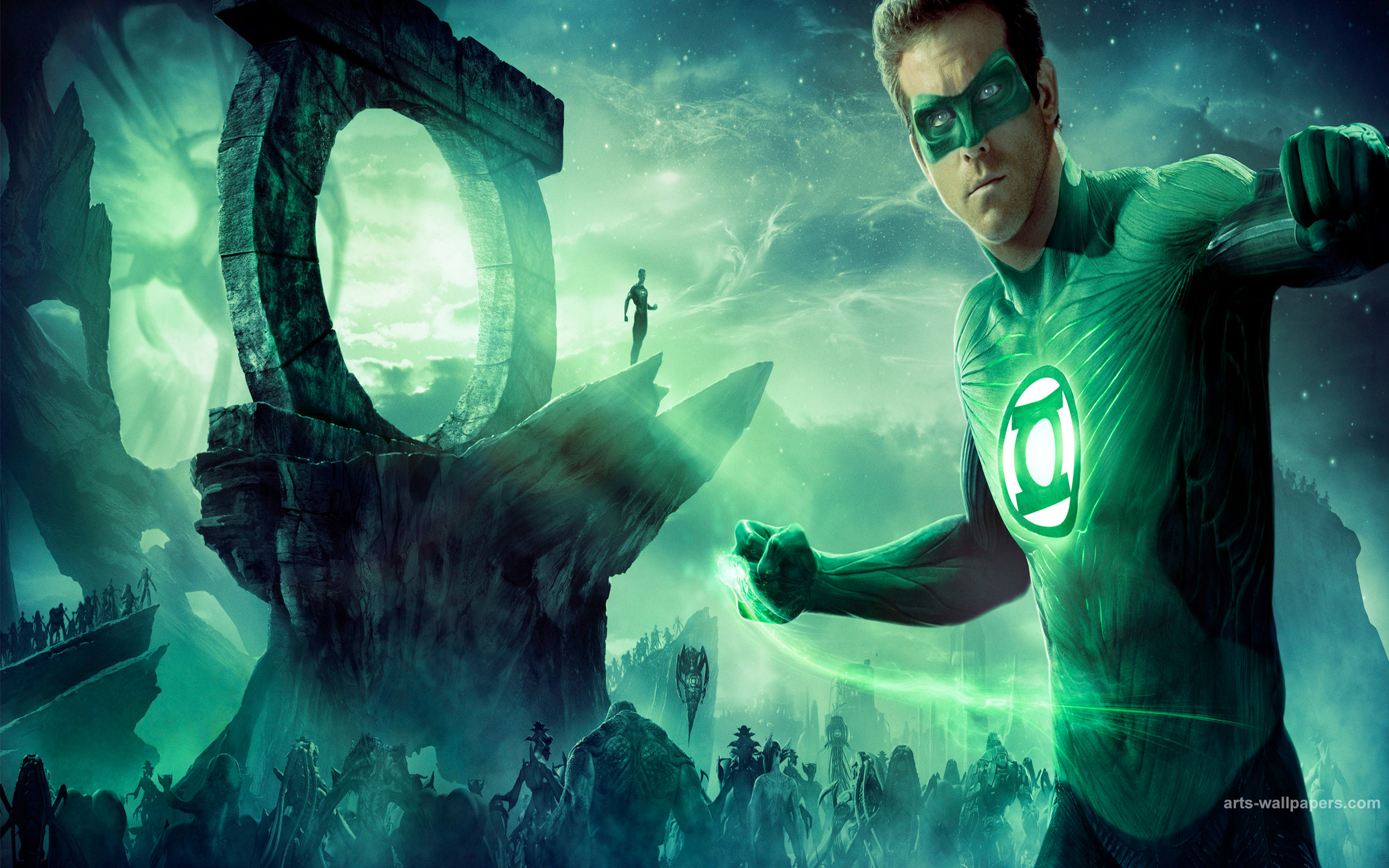 Green Lantern 2011 Wallpaper Poster HD Widescreen Movie Desktop 2560x1600