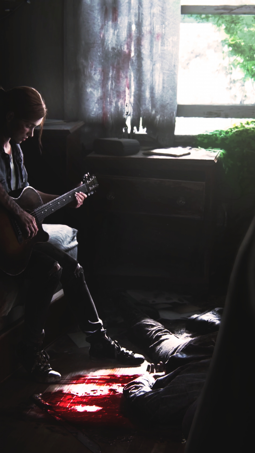 Download 1080x1920 The Last Of Us 2 Ellie Playing Guitar 1080x1920
