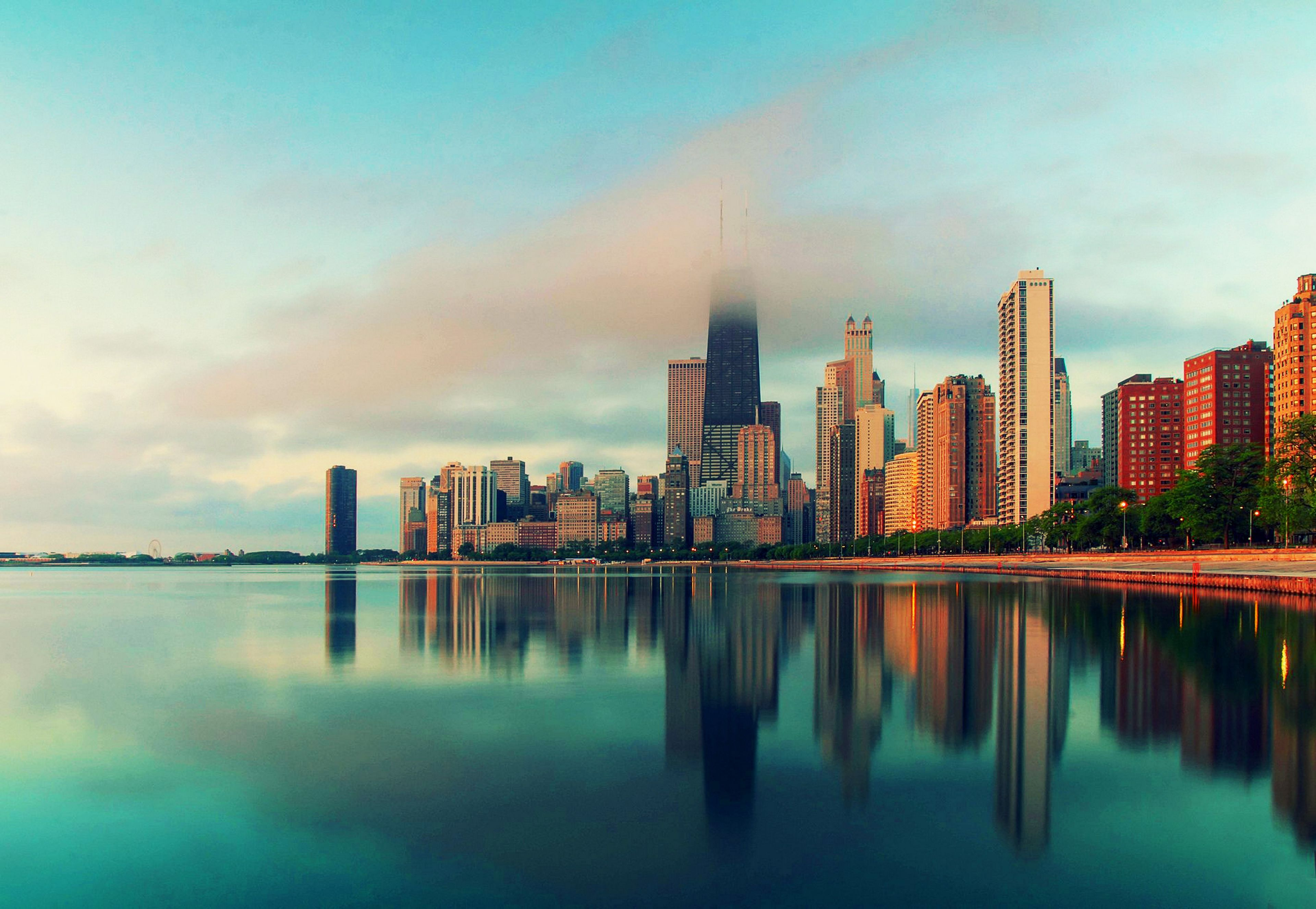 Chicago Wallpapers   Top Chicago Backgrounds   WallpaperAccess 3840x2653