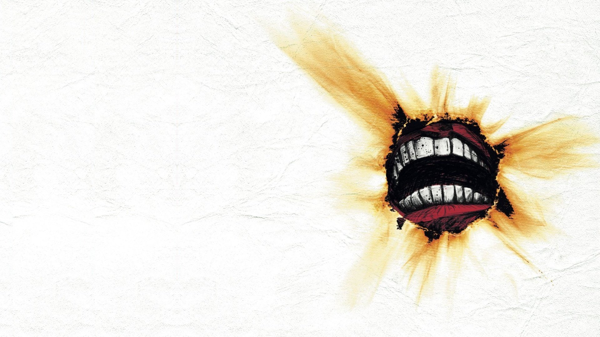 Music mouth Billy Talent album covers simple background 1920x1080