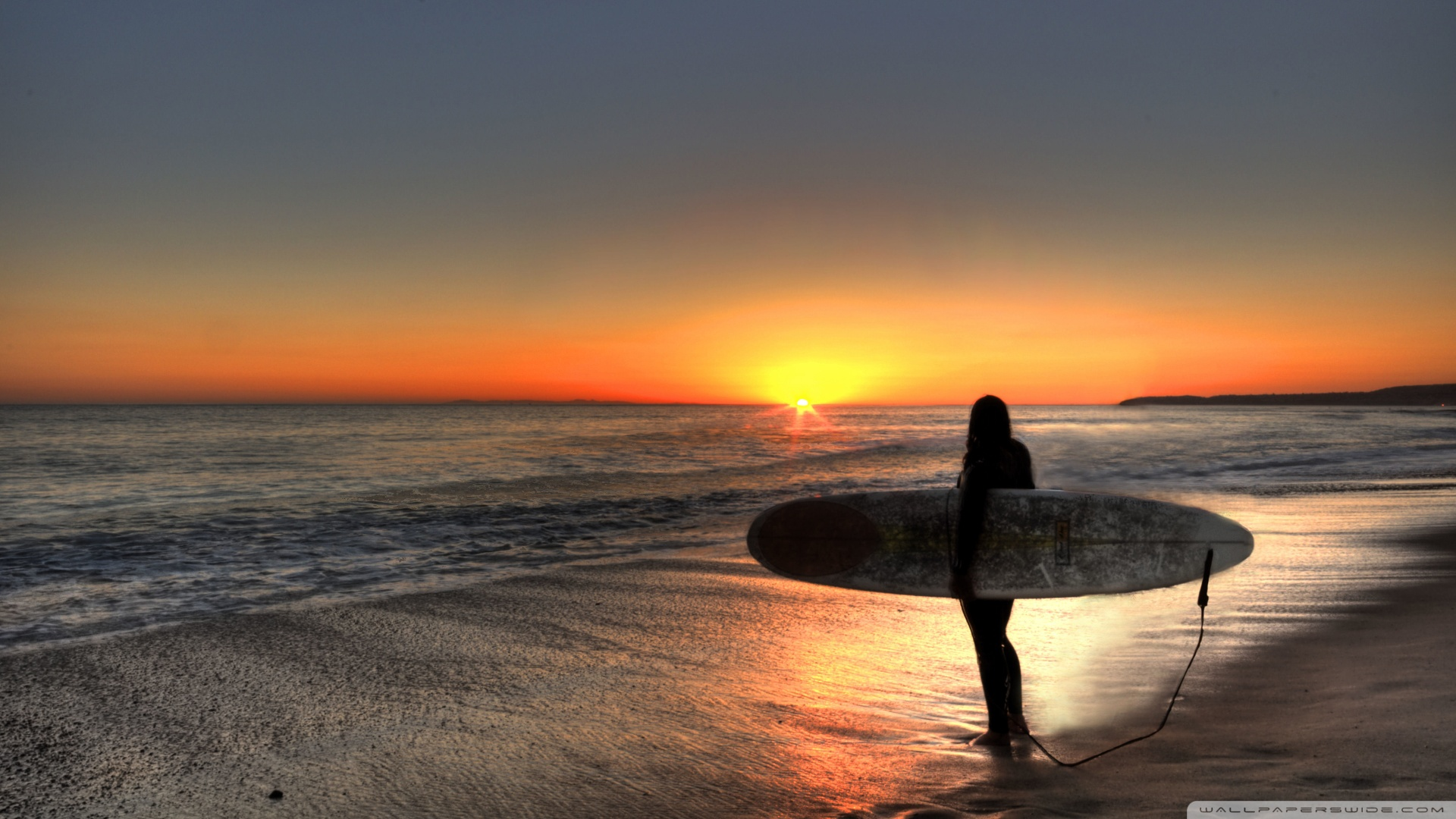 The Surfing Day Is Over 1920x1080 HD Wallpaper Sport Surfing Water 1920x1080