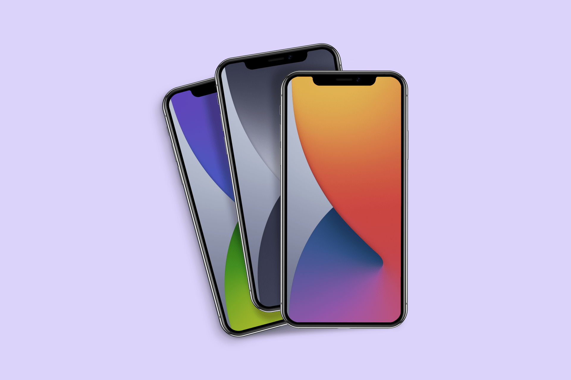 iOS 14 wallpapers for iPhone iPad 1920x1280