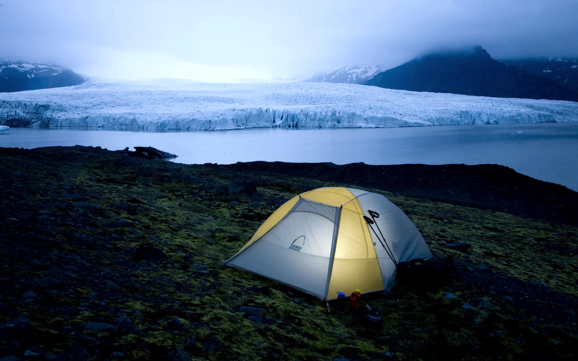 Camping in Iceland National Park Wallpapers HD Wallpapers 1920x1200