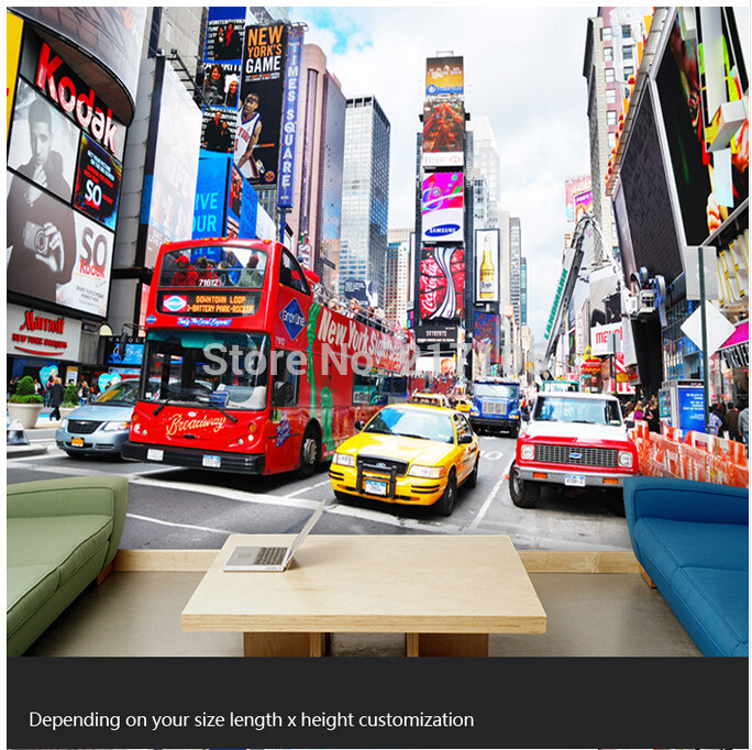 Custom 3D photo wallpaper muralNew York city for living room bedroom 684x682